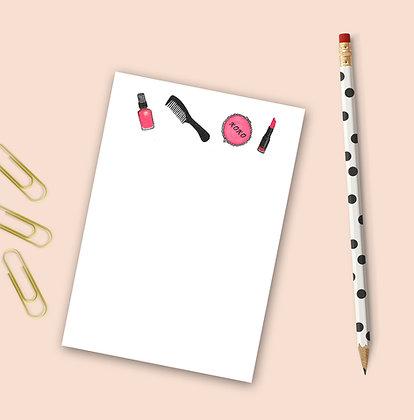 Makeup Notepad
