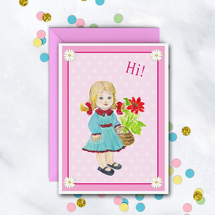 For A Sweet Girl Card