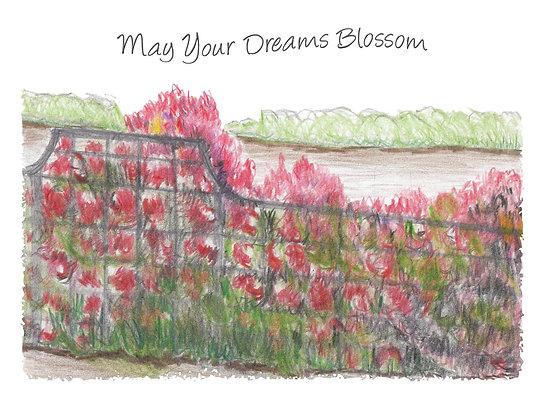 Dreams Blossom Notecard
