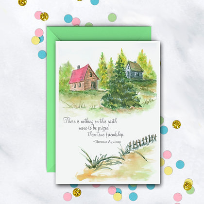 True Friendship Card
