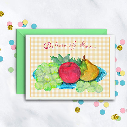 Deliciously Sweet Notecard