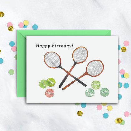 Tennis Anyone? Card
