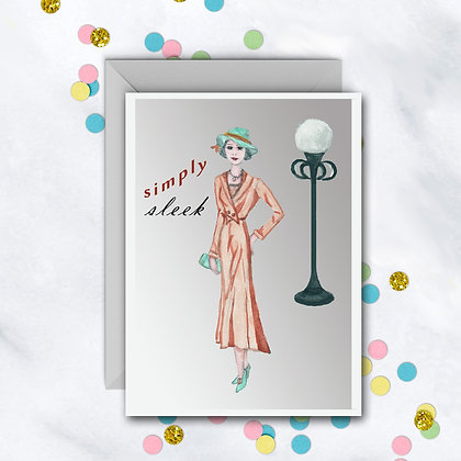 Simply Sleek Card