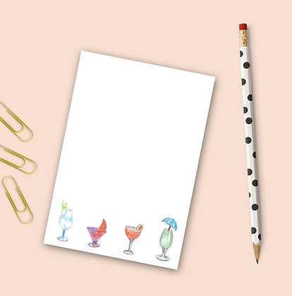 Cocktail Time Notepad
