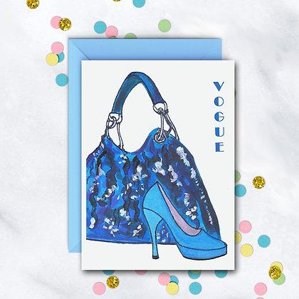Vogue Notecard
