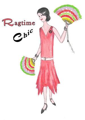 Ragtime Chic Card