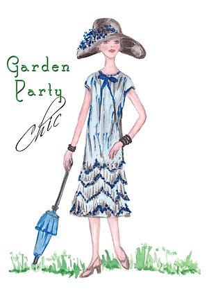 Garden Party Chic Card