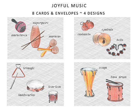 Joyful Music Note Set