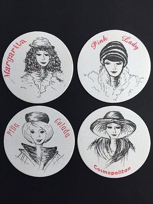 Chic Ladies Coasters