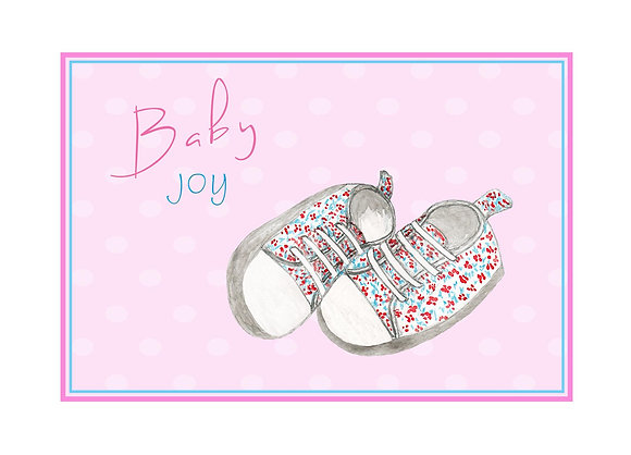 Baby Sneakers Card