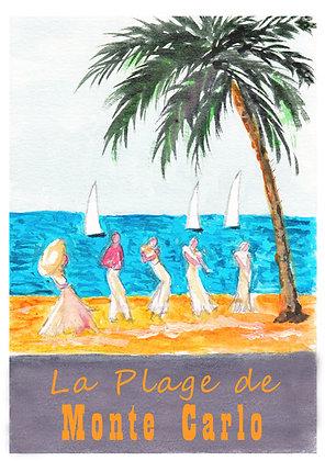 Monte Carlo Art Print