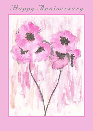 Pastel Poppies Card