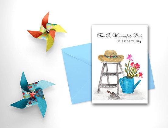 Wonderful Dad Card