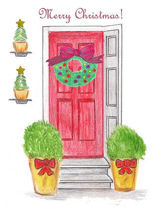 Decorative Christmas Card