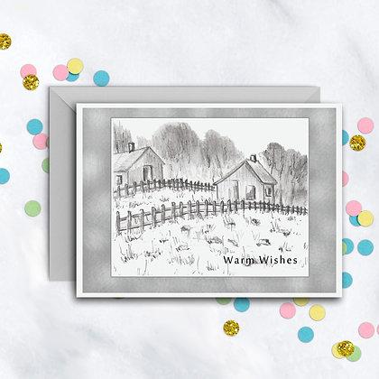 Housewarming Wishes Card