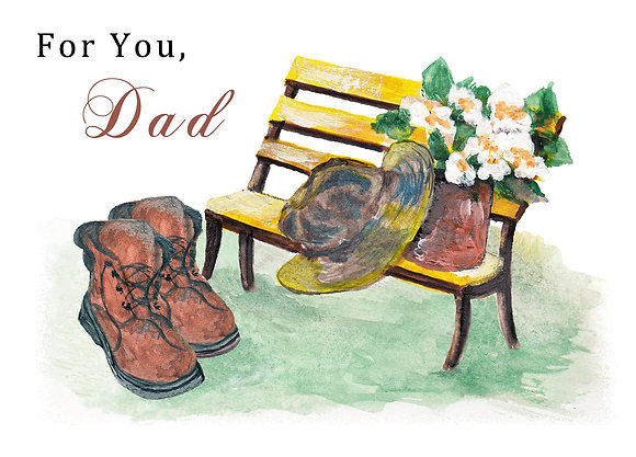 For You, Dad Card