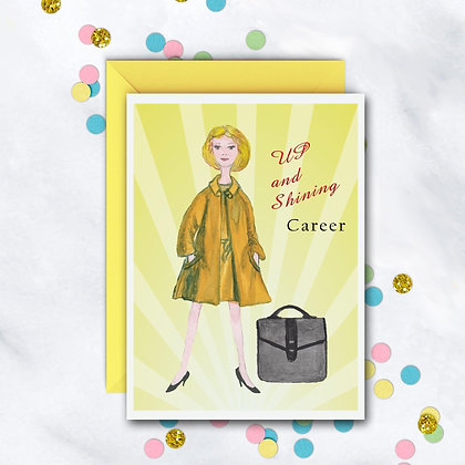 Up And Shining Career Card