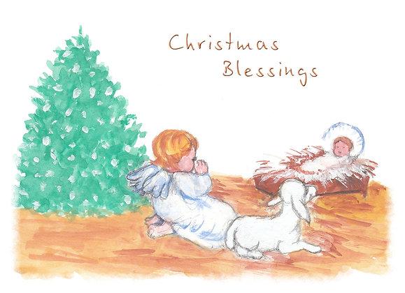 Baby Jesus Nativity Card