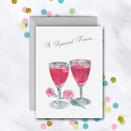 A Special Toast Card
