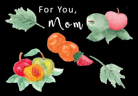 Fancy Fruit Card