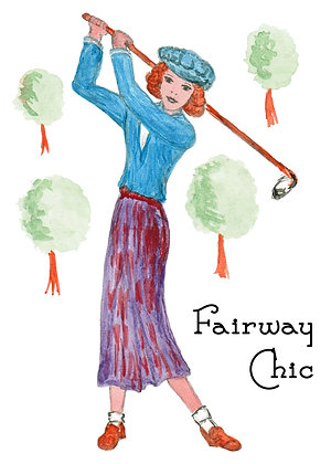 Fairway Chic Card