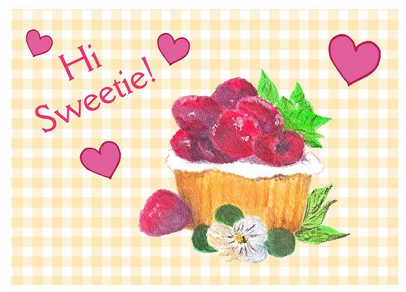 Hi Sweetie Card