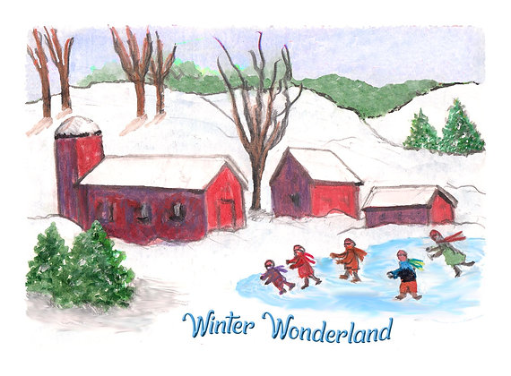 Winter Wonderland Card