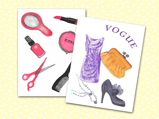 Fashionista Pocket Notebooks