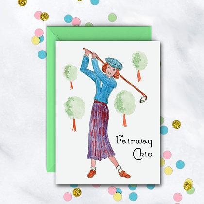 Fairway Chic Card