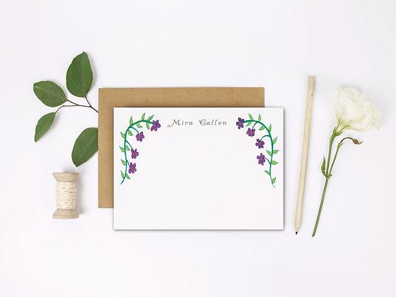 Violet Flat Note