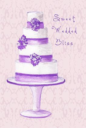 Sweet Wedded Bliss Card