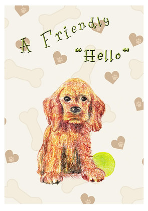 "A Friendly ""Hello"" Card"