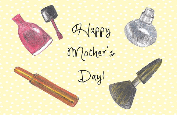 Makeup for Mom Card