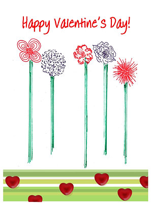 Valentine Whimsy Card