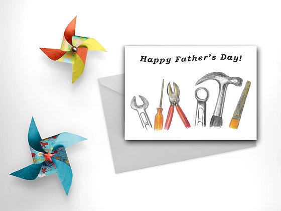 Dad's Tools Card