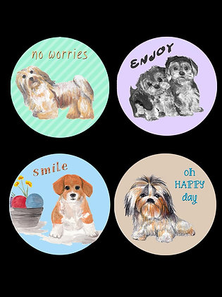 Doggone Cute Coasters