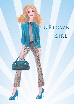 Uptown Girl Card
