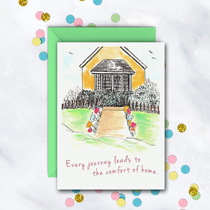Comforts of Home Card