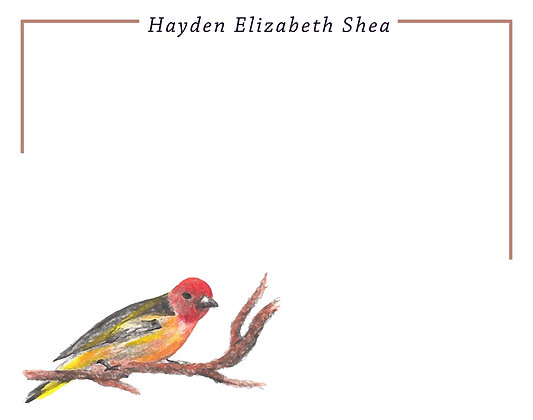 Red Finch Flat Note