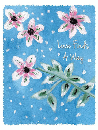 Love Finds A Way Notecard