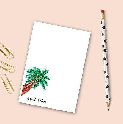 Good Vibes Notepad