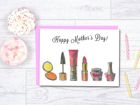 Mom's Makeup Card