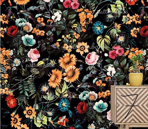 Botanical 7. Eco-Digital printing on choice EcoVero, Tencel Satin or Mod