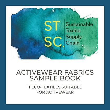 ActiveWear fabrics; LENZING, GOTS COTTON, rPET, Recycled Nylon