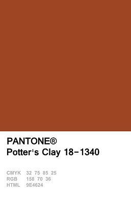 POTTERS CLAY. Lenzing Eco Fabric 85gsm, 140gsm, 220gsm