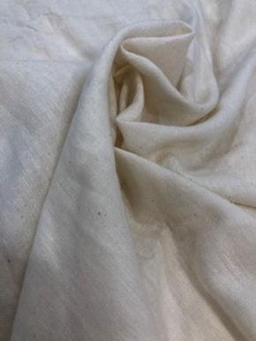"SWATCH PLANT ""WOOL"" ALTERNATIVE. 30% Calotropis +GOTS cotton 70%"