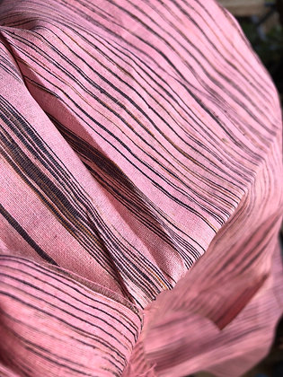 Ayurvastra Ahimsa Silk/Peace Silk - Pale Pink