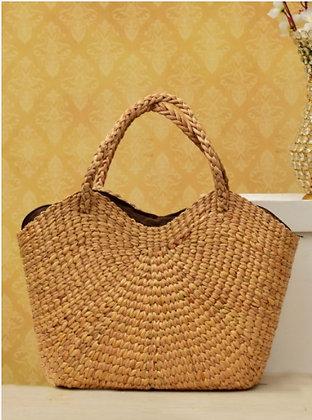 #2 Water Hyacinth Bag. Natural. Large