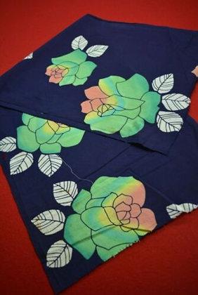 13 Japanese vintage kimono Boro fabric cotton 92x35cm