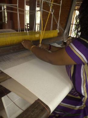 TOWELS. LARGE. AYURVASTRA HANDLOOM ORGANIC COTTON. Plant dyes